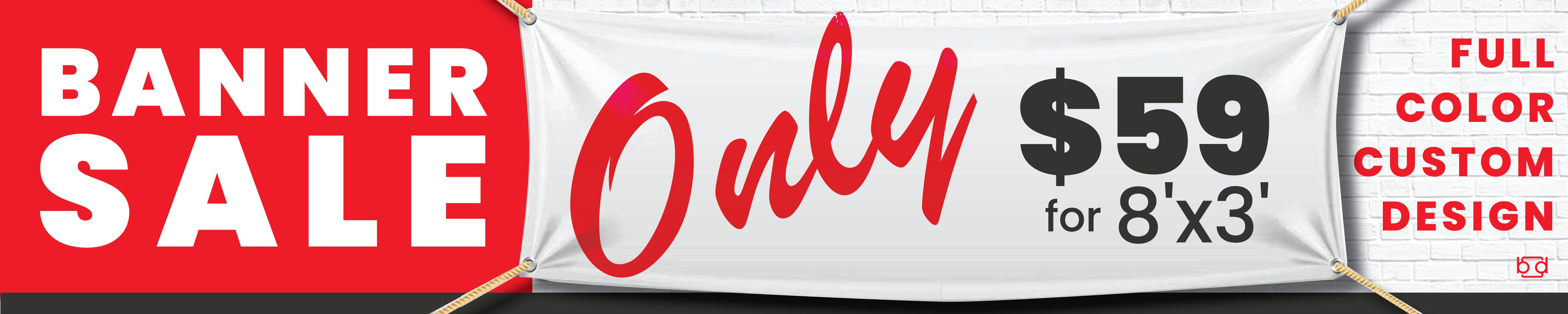 Banner Sale, Cheap Custom Banners Reno