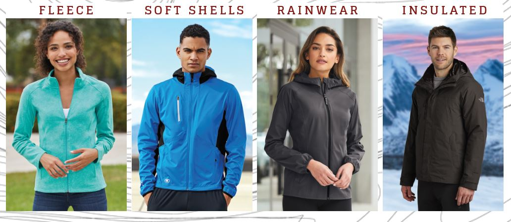 Branded Outerwear Types