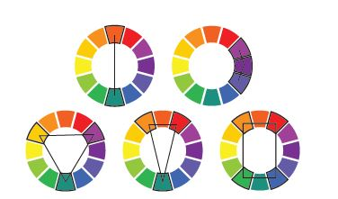 Color Wheel Design at Branded