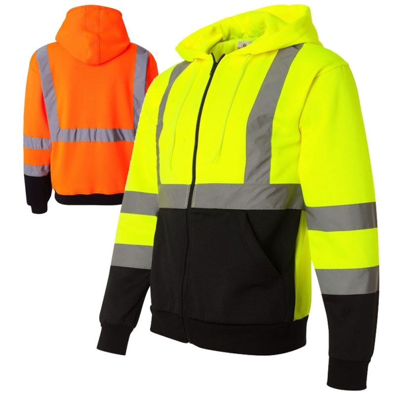 Custom Printing Hoodies Hi Visibility Safety Apparel