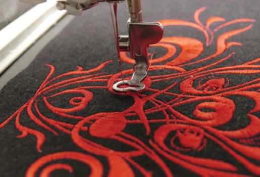 Embroidery at Branded