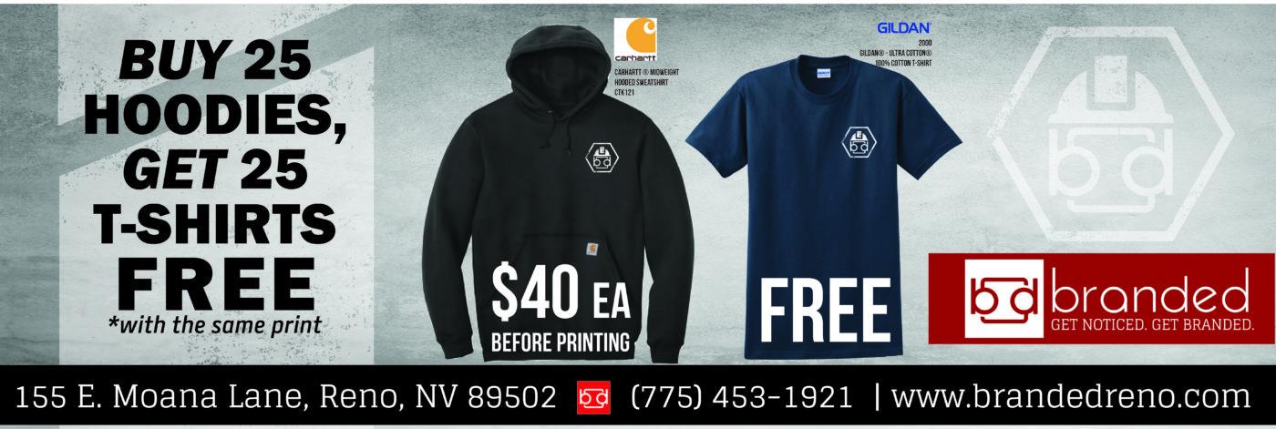 Branded Workwear promotion